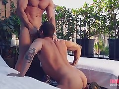 Austin Wolf - rough gay sex