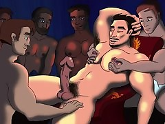 Gay sex party - gay boys sex
